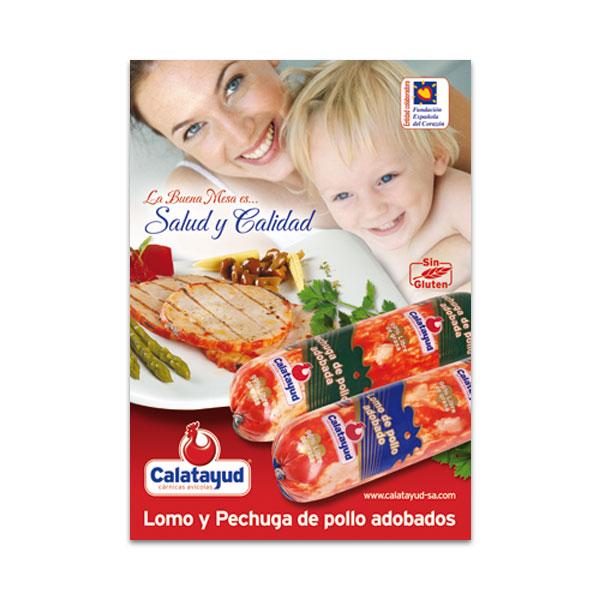 Carteles: Cárnicas Avícolas Calatayud