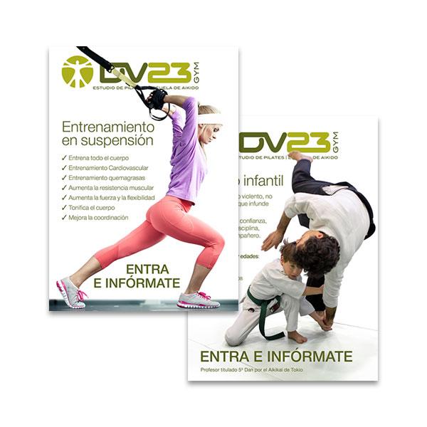 Carteles: DV23 Gym