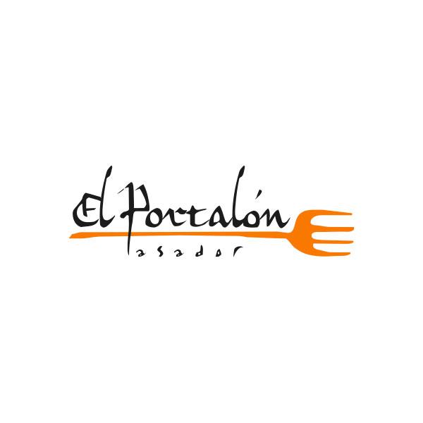 Logosímbolo de Restaurante El Portalón