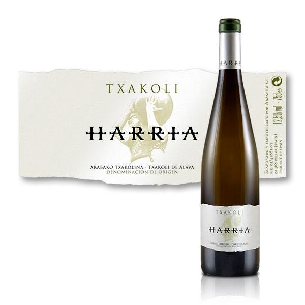 Packaging: Bodegas Arzabro, etiqueta
