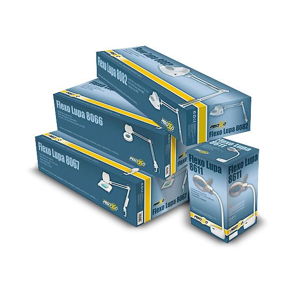 Packaging: Juguetecas, cajas para flexos lupa