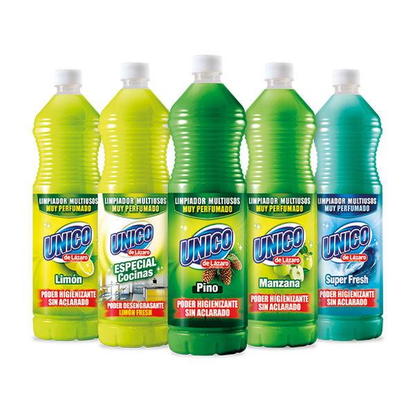 Packaging: SCH, etiquetas limpiador multiusos