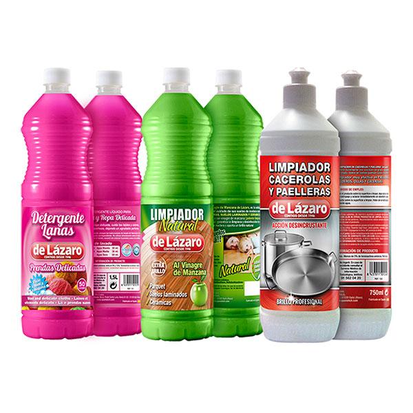 Packaging: SCH, etiquetas productos de limpieza