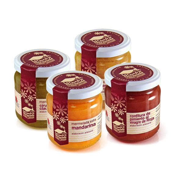 Packaging: La Casa de la Mermelada, etiquetado
