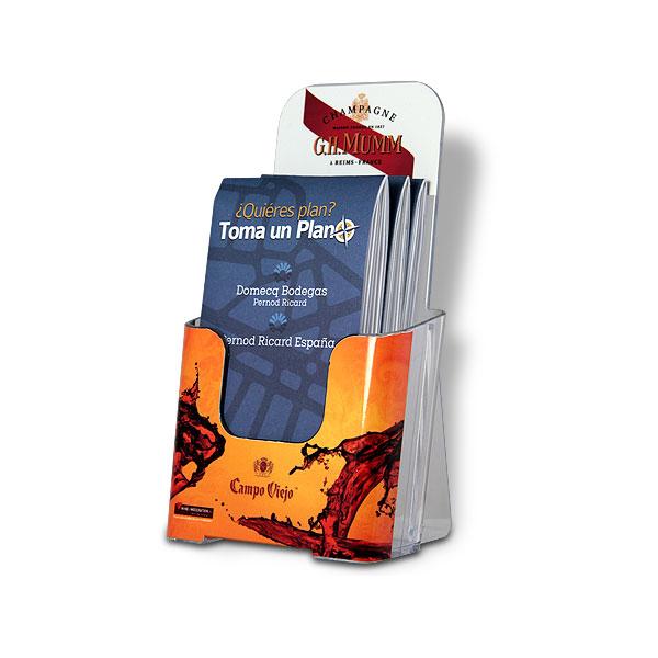 PLV: Domecq - Pernod Ricard, display portafolletos